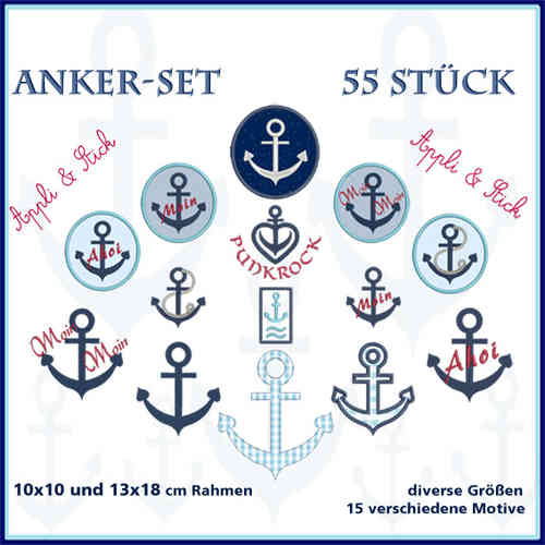 Anchor set 1 embroidery