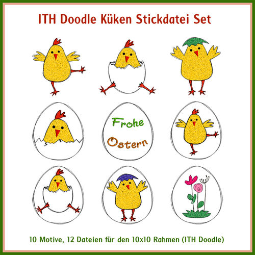 ITH linework chick set