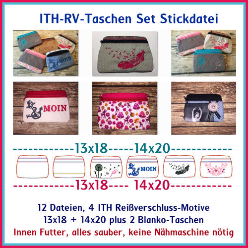 ITH zipper pocket set 2