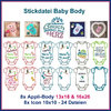 Stickdatei Baby Body