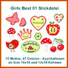 Girls best 1 embroidery