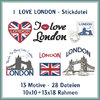 London love embroidery