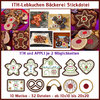ITH gingerbread bakery embroidery