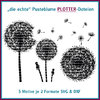 Plotterdatei Pusteblume Dandelion cutting set