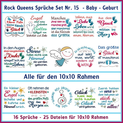 Rock Queens sayings set 15