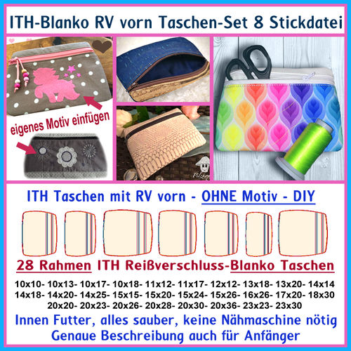 ITH-Mini Sac Set No. 7 Fichier à broder
