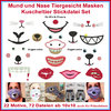 Embroidery file Mouth Nose Mouthguard Cuddly Toy animal face
